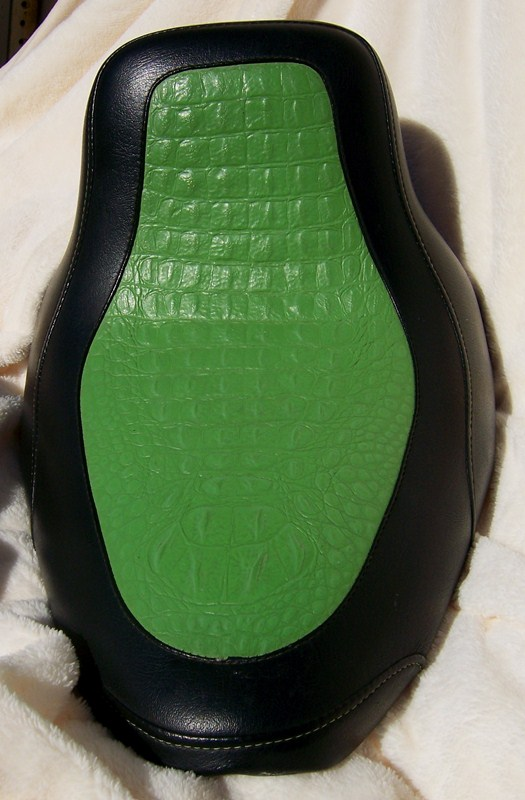 Green Gator Frame Mount Solo Seat