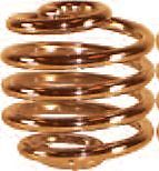 Copper Coated Seat Spring
