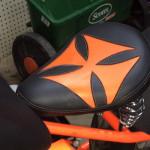 Spring Solo Orange Iron Cross