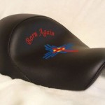Born Again Sportster Seat