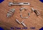 Big Twins Spring Seat Mounting kit 1958-1984