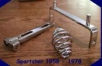 Sportster Spring Solo Mounting Kit 1958-1978